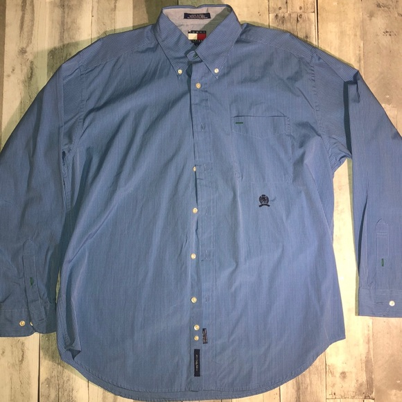 Vintage Tommy Hilfiger Button-Up Shirt